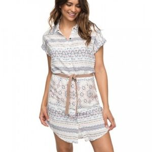 Roxy canyon space button up dress